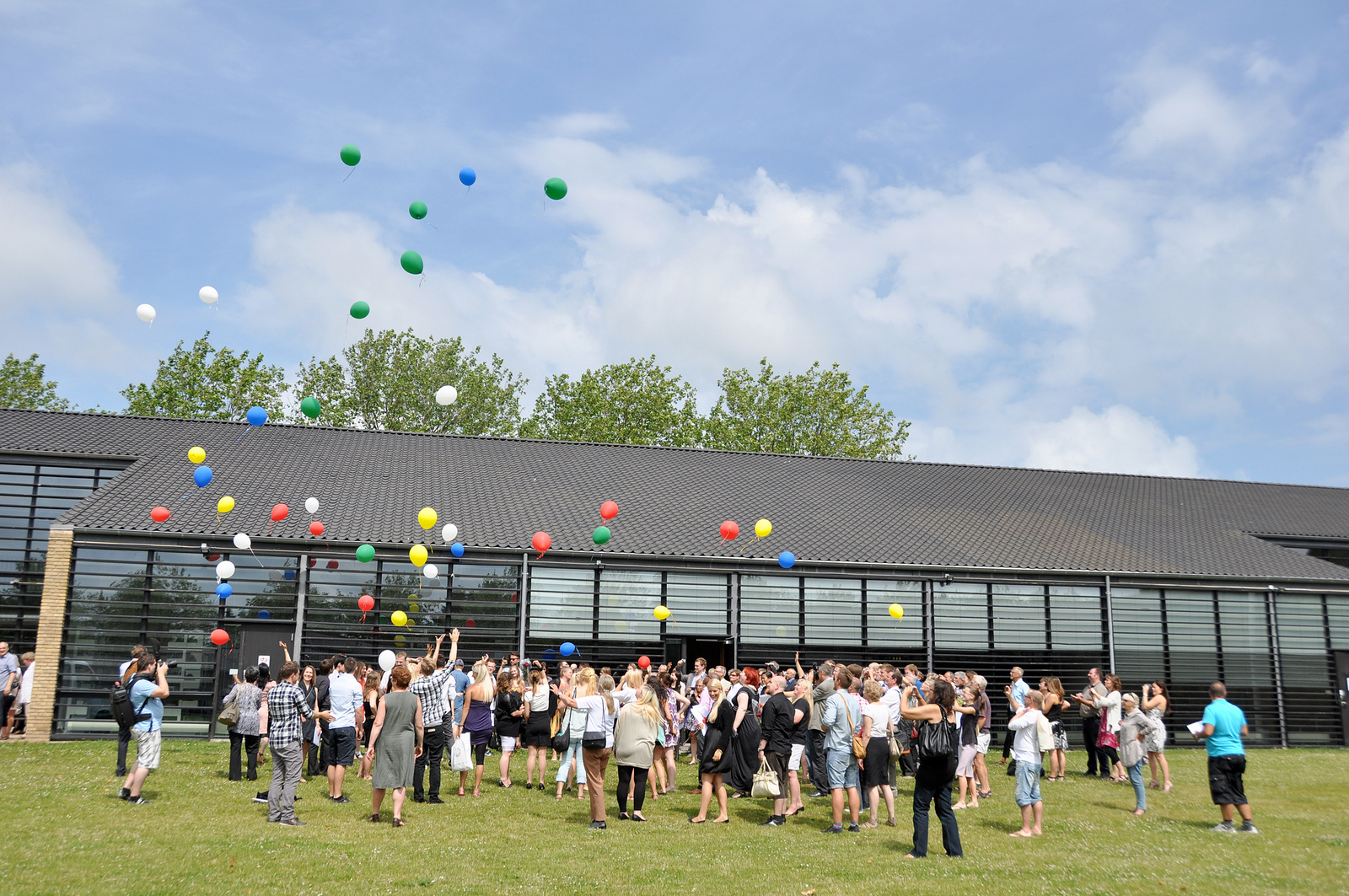 Kampus cphbusiness v dánském městě Lyngby