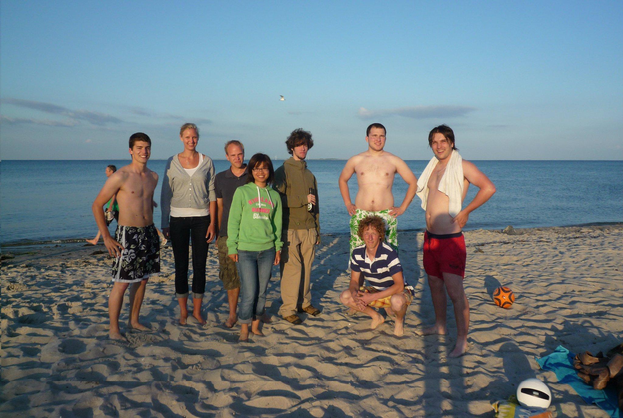 Plážové radovánky
