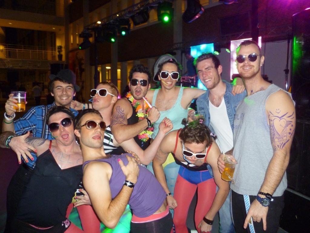 Bláznivé studentské párty