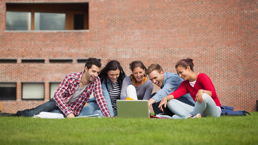 Studenti v Dánsku