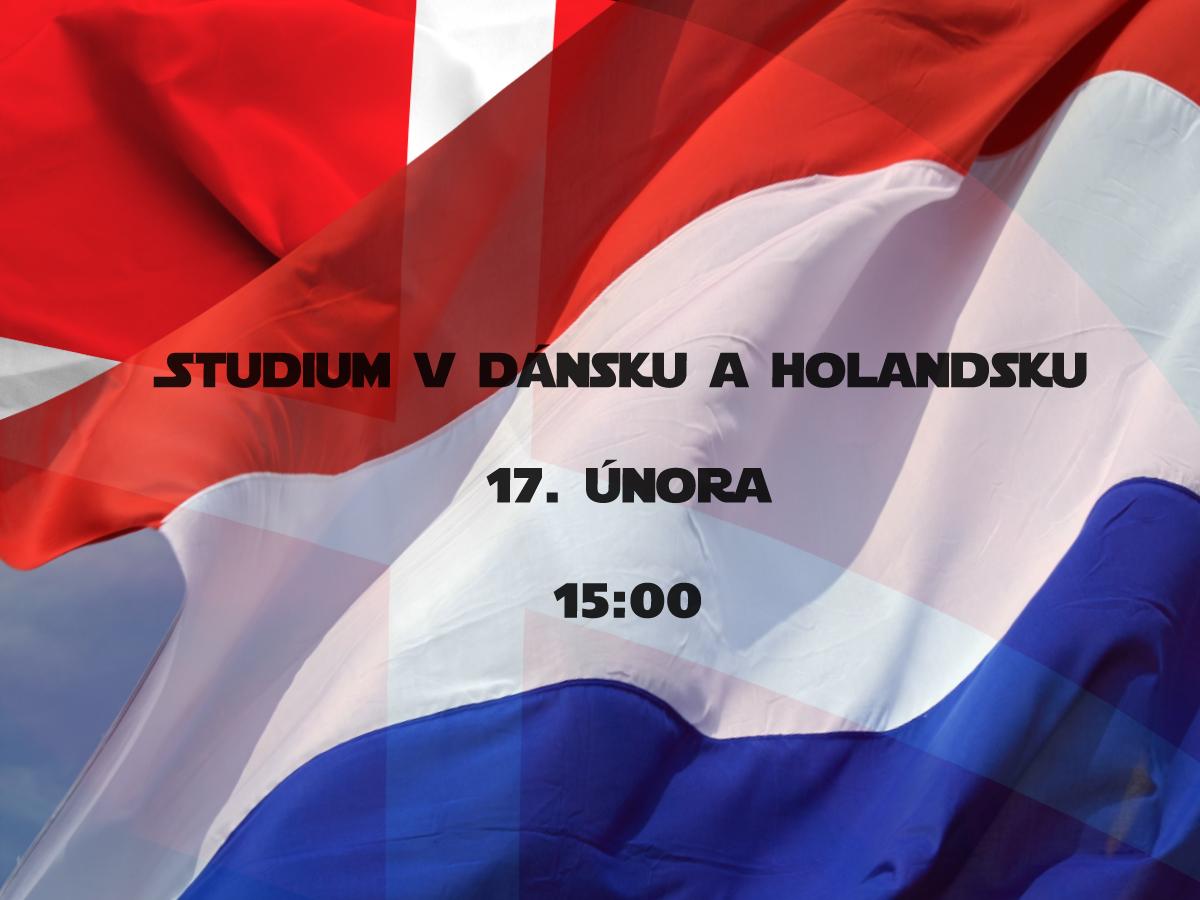 Studium v Dánsku a Holandsku - přejdi na stránky Czech-us a registruj se na meeting